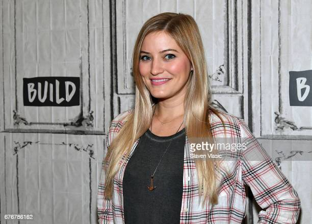 YouTube personality Justine Ezarik visits Build Series to discuss her one-woman new media phenomenon iJustine at Build Studio on May 2, 2017 in New...