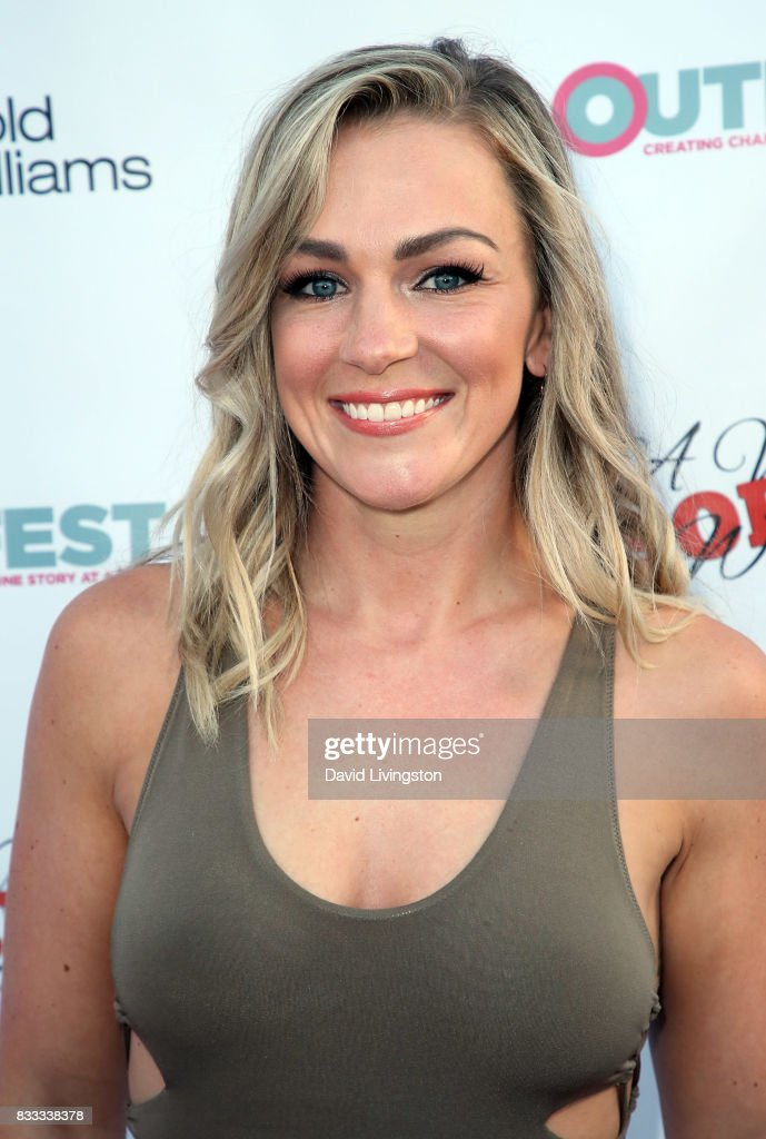 YouTube personality Liz Baxter attends the premiere of Beard Collins Shores Productions' 'A Very Sordid Wedding' at Laemmle's Ahrya Fine Arts Theatre on August 16, 2017 in Beverly Hills, California.
