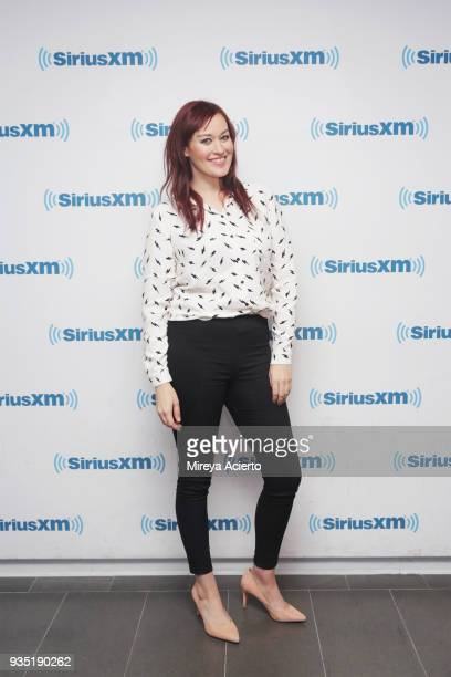 YouTube personality Mamrie Hart visits SiriusXM Studios on March 20 2018 in New York City