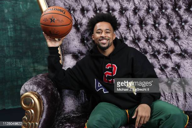 YouTube personality Marcelas Howard poses for a portrait during the 2019 NBA AllStar circuit on February 15 2019 at the Sheraton Hotel in Charlotte...