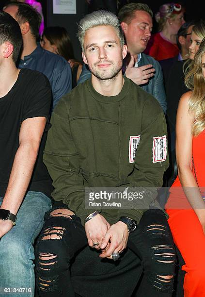 Youtube personality Marcus Butler attends the Maybelline Hot Trendsxhbition 2017 show during the MercedesBenz Fashion Week Berlin A/W 2017 at...