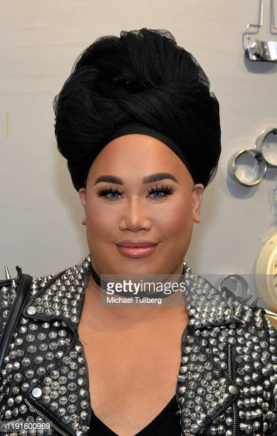 YouTube personality Patrick Starrr attends the VIP opening night for the Dumpling Associates popup art exhibition at ROW DTLA on December 02 2019 in...