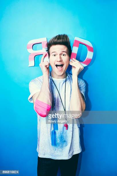 YouTube personality Ricky Dillon is photographed for Simon Schuster on November 3 2015 in Los Angeles California