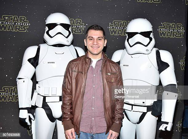 YouTube Personality Shane Luis of YouTube channel Rerez attends Canadian Premiere of Star Wars The Force Awakens held at Scotiabank Theatre on...