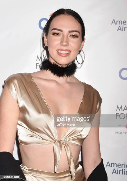 YouTube personality Sydney Carlson arrives at the Universal Music Group's 2017 GRAMMY After Party at The Theatre at Ace Hotel on February 12, 2017 in...