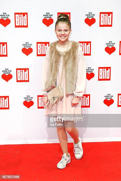 Youtube star Faye Montana attends the Ein Herz Fuer Kinder gala on December 3, 2016 in Berlin, Germany.