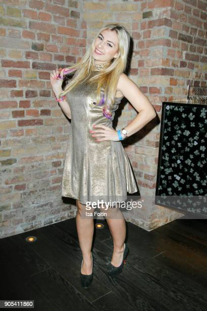 Youtube star Jenny Dakota during the Bunte New Faces Night at Grace Hotel Zoo on January 15 2018 in Berlin Germany