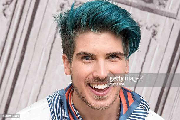YouTube star Joey Graceffa attends the AOL Build Series to discuss 'Escape the Night' at AOL Studios In New York on June 30 2016 in New York City
