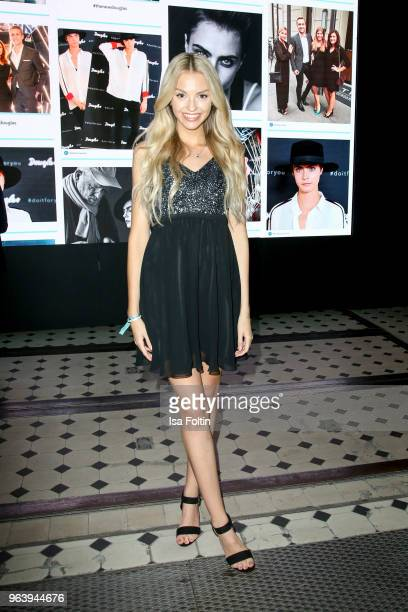 Youtube star Julia Maria during the Douglas X Peter Lindbergh campaign launch at ewerk on May 30 2018 in Berlin Germany