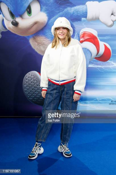 Youtube star Kelly aka missesvlog attends the premiere of Sonic the Hedgehog at Zoo Palast on January 28 2020 in Berlin Germany