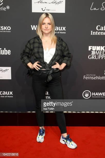 Youtube star Kelly Svirakova alias Kelly MissesVlog attends the YouTube Goldene Kamera Digital Award at Kraftwerk Mitte on September 27 2018 in...