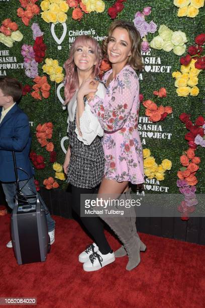 YouTube star Lindsey Sterling and Victoria Arlen attend Rock The Runway presented by Children's Miracle Network Hospitals at Avalon on October 13...