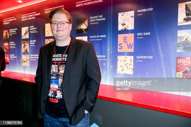 Youtube star Peter Smits alias PietSmiet during the German Computer Games Award 2019 at Admiralspalast on April 9 2019 in Berlin Germany