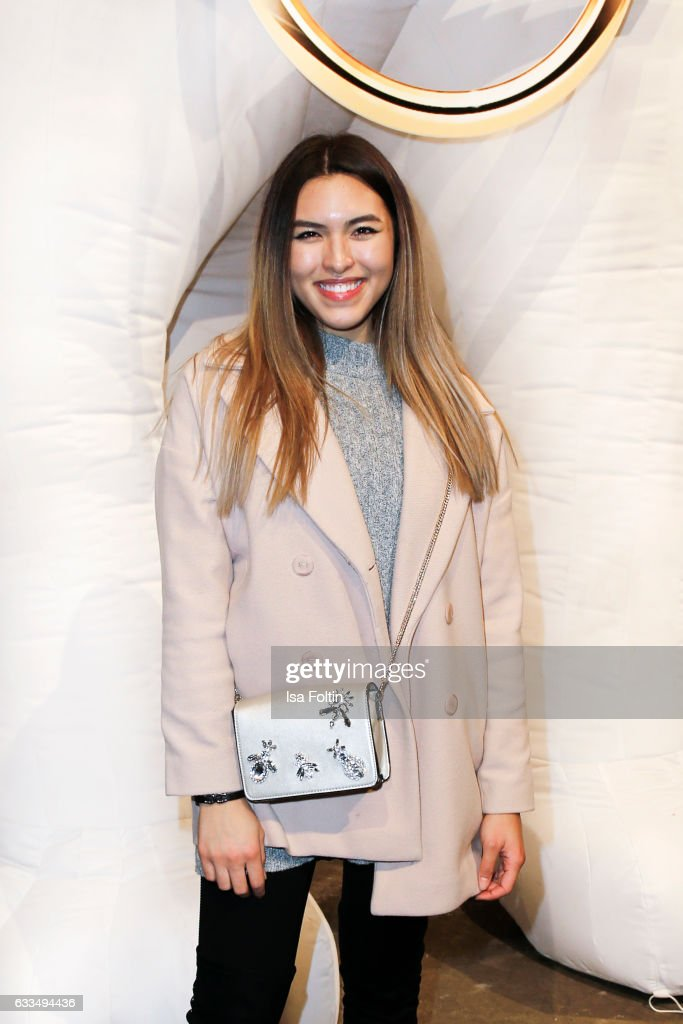 Youtube star Shanti Tan attends the Presentation of the new Opel Calender 2017 at Kraftwerk Mitte on February 1, 2017 in Berlin, Germany.
