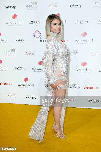 Youtube star Shirin David attends the Dreamball 2017 at Westhafen Event Convention Center on September 20 2017 in Berlin Germany
