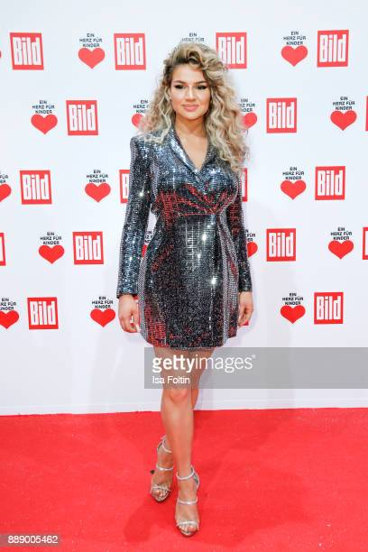 Youtube Star Shirin David attends the 'Ein Herz fuer Kinder Gala' at Studio Berlin Adlershof on December 9 2017 in Berlin Germany