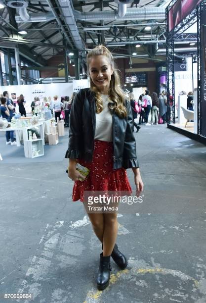 Youtube star Snukieful attends the GLOW The Beauty Convention at Station on November 5 2017 in Berlin Germany