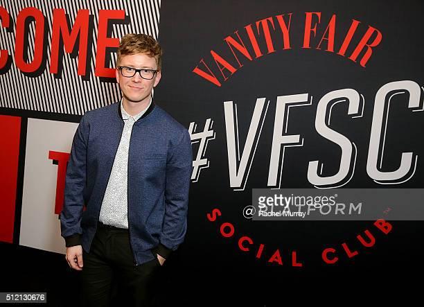 YouTube star Tyler Oakley attends the 2016 Vanity Fair Social Club #VFSC for Oscar Week at PLATFORM on February 24 2016 in Culver City California