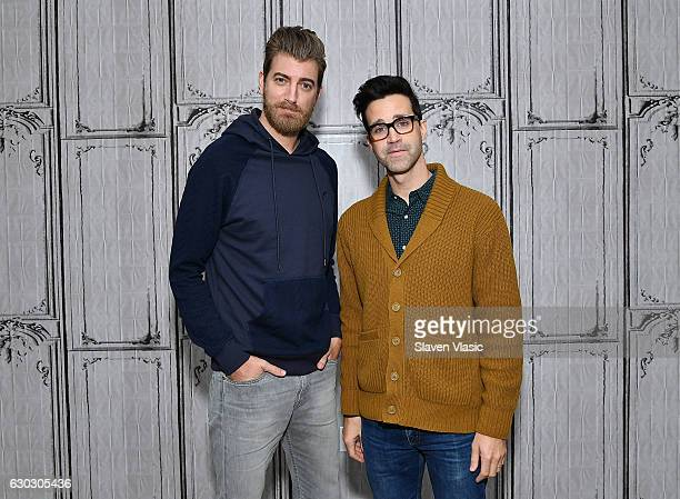 YouTube superstarsÊRhett James McLaughlin and Charles Lincoln Link Neal III aka Rhett and LinkÊvisit AOL BUILD to chat about their upcoming original...