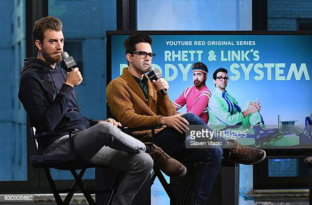 YouTube superstarsÊRhett James McLaughlin and Charles Lincoln 'Link' Neal III aka Rhett and LinkÊvisit AOL BUILD to chat about their upcoming...
