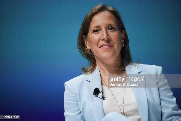 Youtube Susan Wojcicki speaks during the 'What Matters Next' session during the Cannes Lions Festival 2018 on June 19 2018 in Cannes France