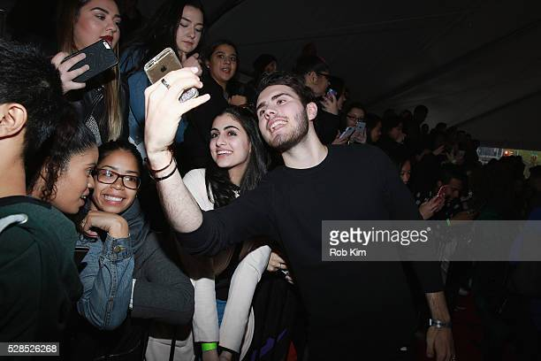 YouTuber Alfie Deyes poses for a photo during YouTube Brandcast presented by Google on May 5 2016 in New York City