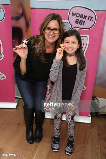 Youtuber Amy Jo attends the launch of the LOL Surprise Unboxing Video Booth and LOL Surprise Pets hosted by Hilaria Baldwin at Toys 'R' Us NYC on...