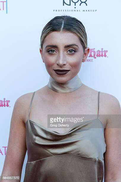 YouTuber and Actress Lauren Elizabeth arrives at the Tiger Beat's Pre-Party Around FOX's Teen Choice Awards at HYDE Sunset: Kitchen + Cocktails on...