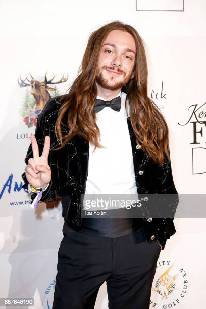 Youtuber and Influencer Riccardo Simonetti attends the Kempinski Fashion Dinner on May 23 2017 in Munich Germany