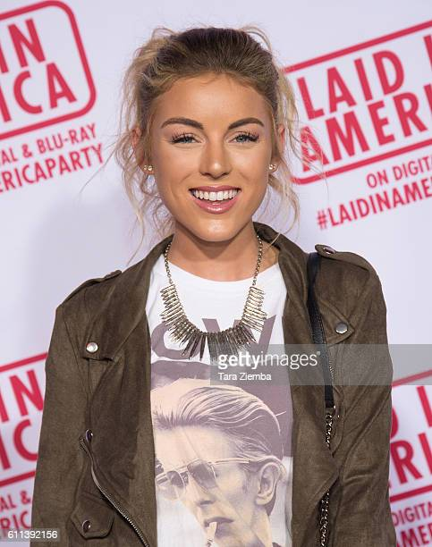 YouTuber Angelique Cooper attends the premiere of 'Laid In America' at AMC Universal City Walk on September 28 2016 in Universal City California