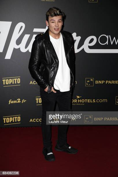 Youtuber Anthonin attends the '4th Melty Future Awards' at Le Grand Rex on February 6 2017 in Paris France
