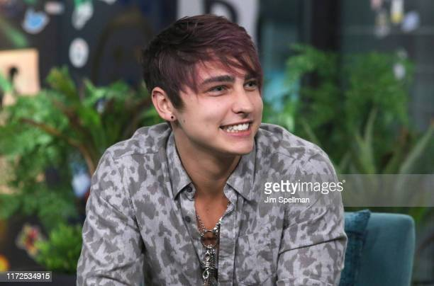 YouTuber Colby Brock of Sam and Colby attends the Build Series at Build Studio on September 05 2019 in New York City