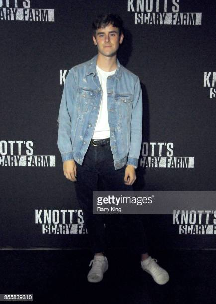 YouTuber Connor Franta attends Knott's Scary Farm and Instagram Celebrity Night at Knott's Berry Farm on September 29 2017 in Buena Park California