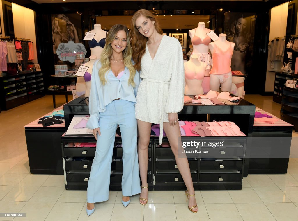 TN: Angel Alexina Graham Visits Nashville On The Incredible By Victoria's Secret Launch Tour