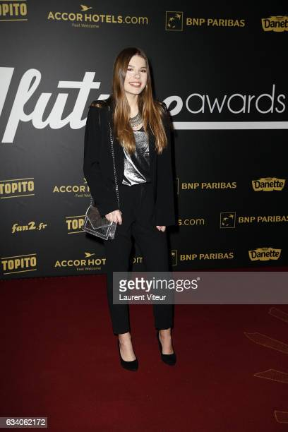 YouTuber Juste Zoe attends the '4th Melty Future Awards' at Le Grand Rex on February 6 2017 in Paris France