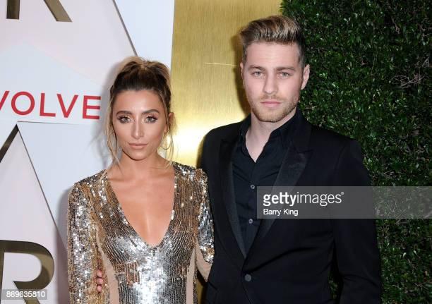 YouTuber Lauren Elizabeth and actor Cameron Fuller attend #REVOLVEawards at DREAM Hollywood on November 2 2017 in Hollywood California