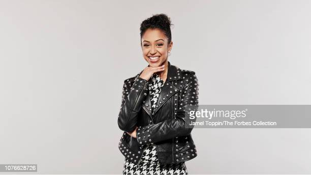 YouTuber Liza Koshy is photographed for Forbes Magazine on September 30 2018 in New York City PUBLISHED IMAGE CREDIT MUST READ Jamel Toppin/The...