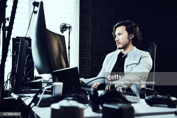 YouTuber Mark Fischbach aka Markiplier is photographed for Forbes Magazine on November 19 2018 in Los Angeles California PUBLISHED IMAGE CREDIT MUST...