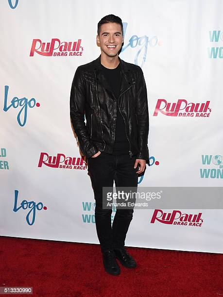 YouTuber Raymond Braun arrives at the premiere of Logo's 'RuPaul's Drag Race' Season 8 at The Mayan Theater on March 1 2016 in Los Angeles California