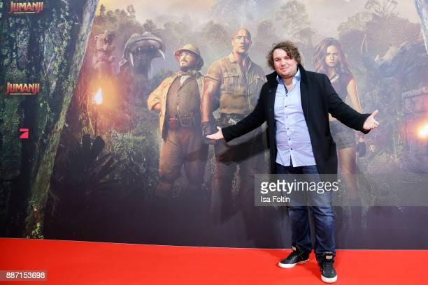 Youtuber Robert Hofmann attends the German premiere of 'Jumanji Willkommen im Dschungel' at Sony Centre on December 6 2017 in Berlin Germany