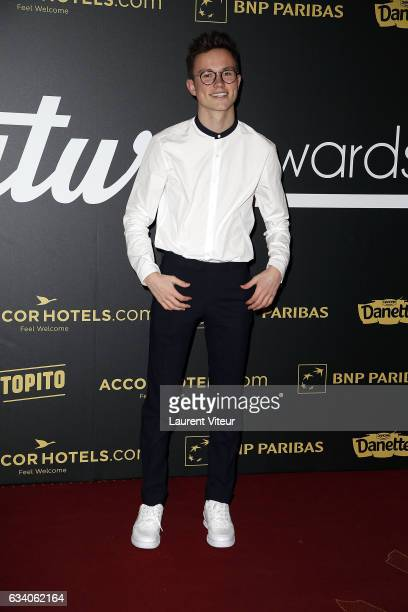 Youtuber Sundy Jules attends the '4th Melty Future Awards' at Le Grand Rex on February 6 2017 in Paris France
