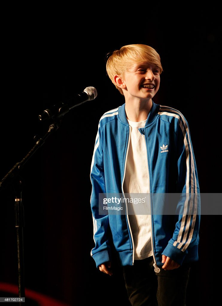 YouTuber Toby Randall performs at #VidCon at Anaheim Convention Center on July 23, 2015 in Anaheim, California.