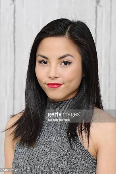 YouTuberturnedTVstar Anna Akana discusses her own series on the Verizon app go90 'Miss 2059' during the AOL Build Speaker Series at AOL Studios In...