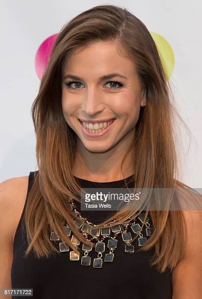 YouTube's ThinkTank host and executive producer Hannah Cranston attends SoulPancake's Puppypalooza Party at SoulPancakes Headquarters on March 23...