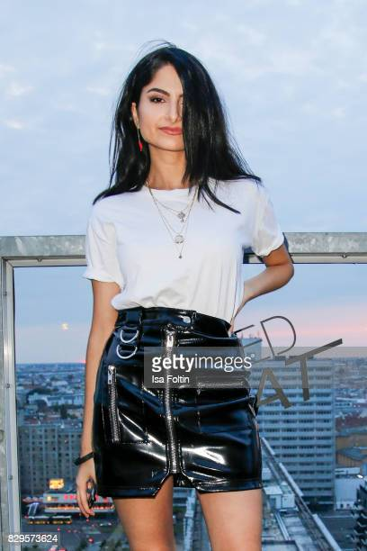 Youtubestar Ischtar Isik during the Urban Decay Naked Heat Launch at House of weekend on August 10 2017 in Berlin Germany