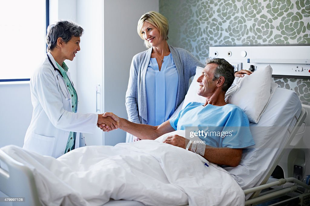 You've been a great patient! : Stock Photo