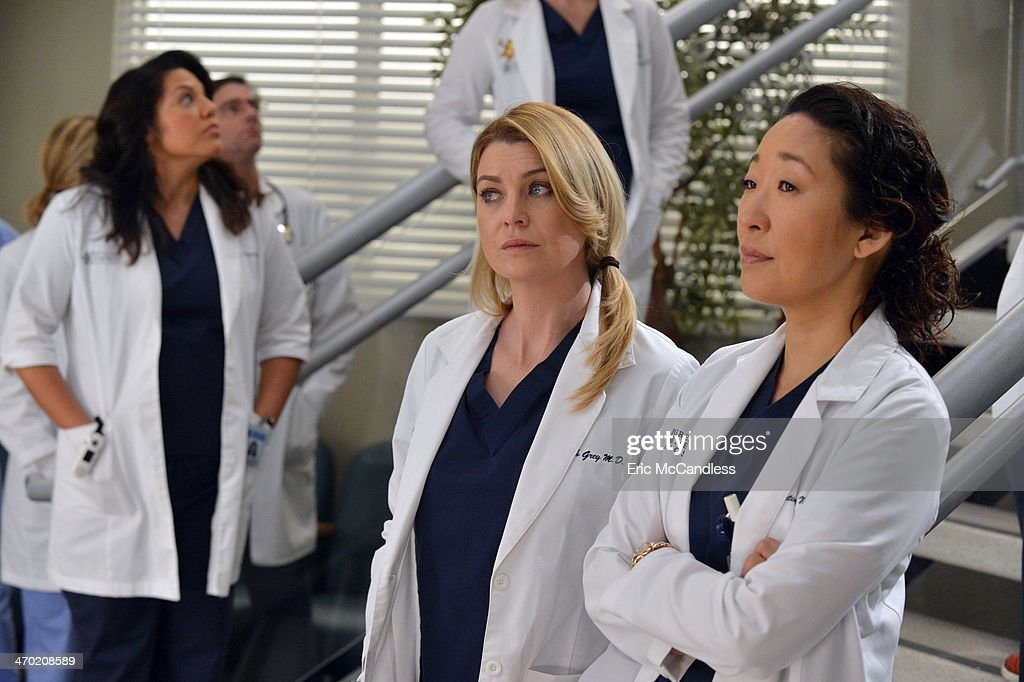 "ABC's ""Grey's Anatomy"" - Season Ten : News Photo"