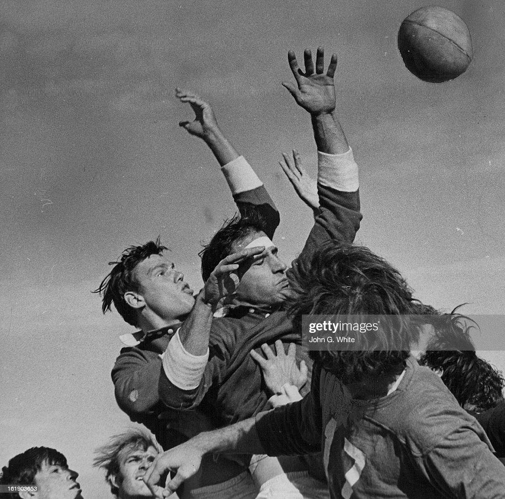 Denver News Sunday: NOV 1970, NOV 23 1970; You've Gotta Be Rugged For Rugby