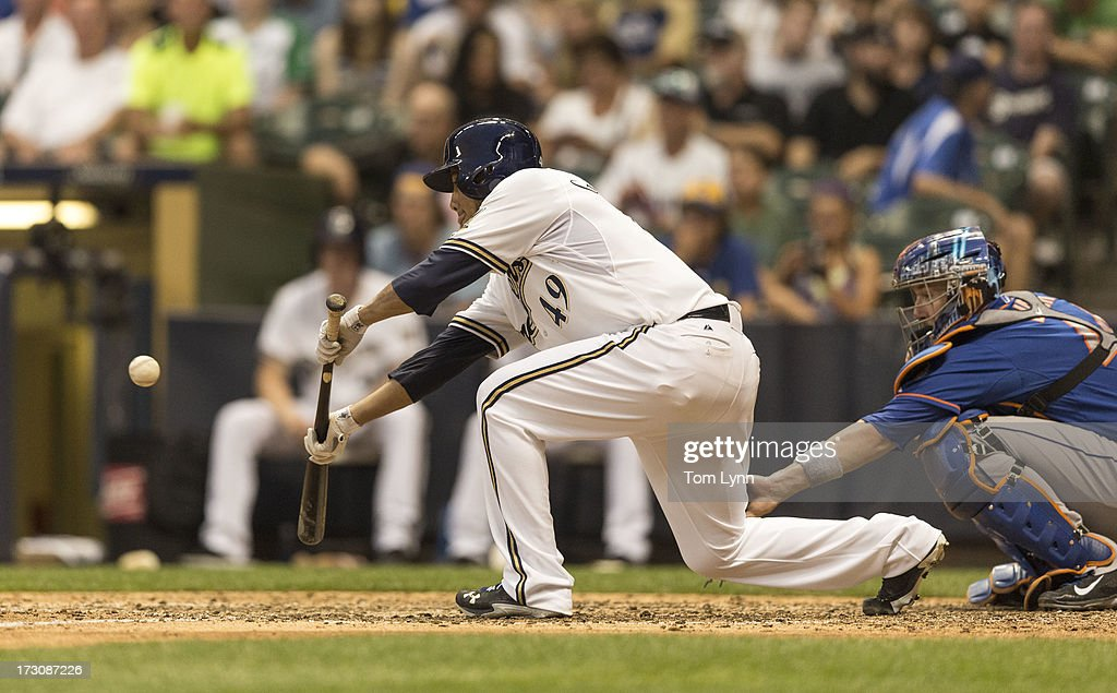 New York Mets v Milwaukee Brewers : News Photo