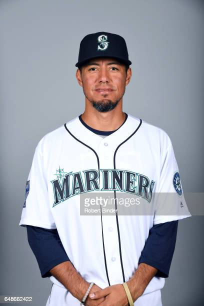 Yovani Gallardo of the Seattle Mariners poses during Photo Day on Monday February 20 2017 at Peoria Sports Complex in Peoria Arizona